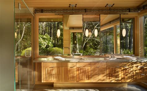 Windows That Open Out Ideas Wooden Interior Lake Forest Park Design By Finne Architects