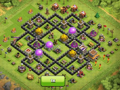 layout coc th8 image th8 layout jpg clash of clans wiki fandom