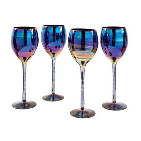 best barware glasses shimmer wine glasses from dwell wine glasses 10 of the