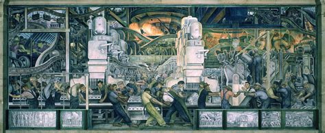 Detroit Michigan Court Search Diego Rivera Pinturas Y Murales
