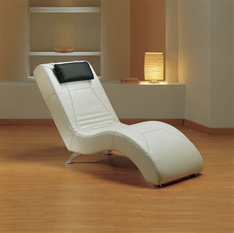 modern leather chaise lounge estro salotti viva modern white leather lounge chaise
