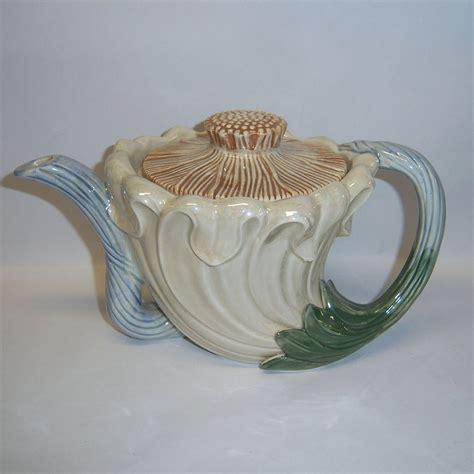 fitz floyd quot nouveau quot tea pot from