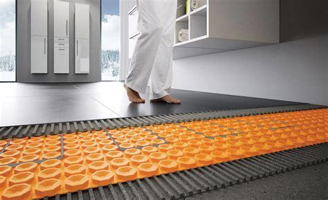 schluter heated floor home flooring ideas