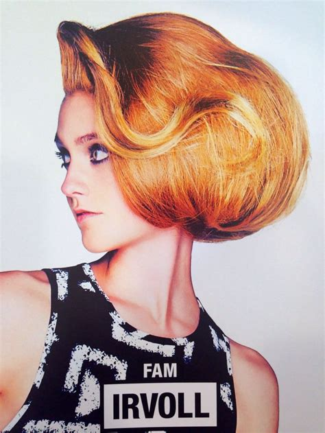 video feminine man getting a bouffant hair style 17 best images about toni and guy hair on pinterest warm