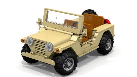 lego army jeep m151 mutt needs your support to be immortalized