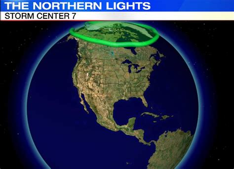 where are the northern lights located northern lights visible even in ohio dayton news www