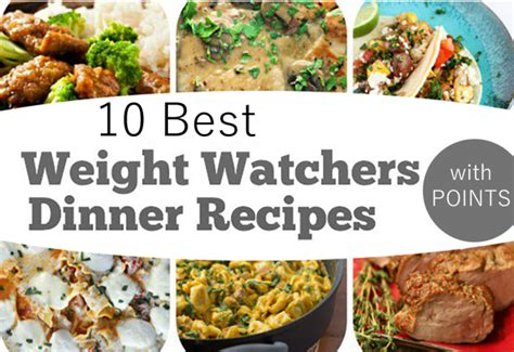 top 10 dinner recipes 10 best weight watchers dinner recipes easy recipes
