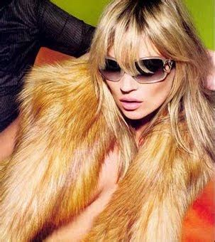 Ahhh The Divas Bff Kate Moss The Does by P I R A B A L I N I The Ultimate Fashion Bible Fur Vest