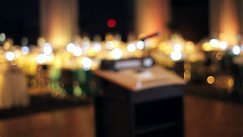 table  restaurant blurred background stock footage video