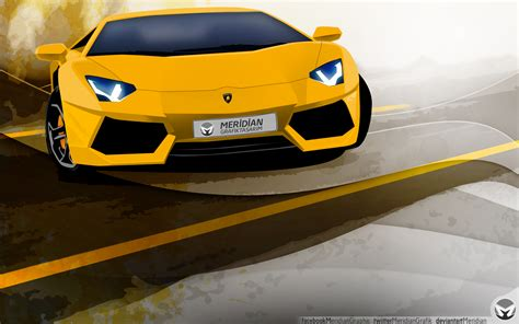 Lamborghini Vector Lamborghini Aventador Vector By Meridiann On Deviantart