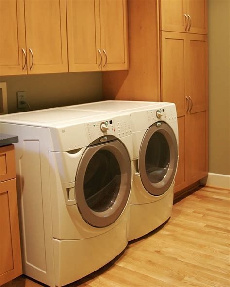 Custom Laundry Room Cabinets Laundry Room With Custom Cabinets Modern Laundry Room Richmond By Criner Remodeling