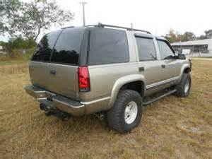sell used 1999 chevrolet tahoe z71 lifted 4wd leather