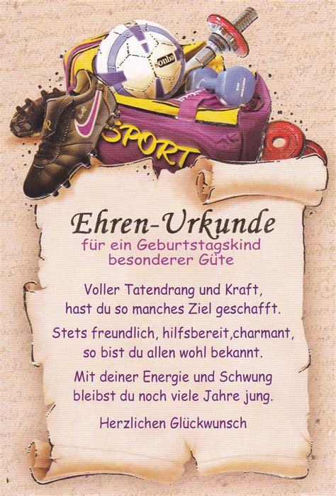 Spr Che Ber Motorrad by Fantastic Alles Gute Zum Geburtstag Zertifikat Motif