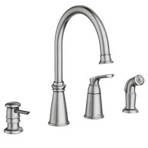best moen kitchen faucet whitmore spot resist stainless one handle high arc kitchen faucet 87044srs moen