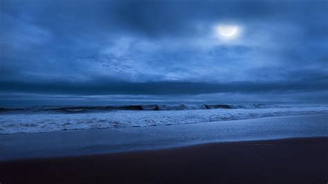 Seashore Home Decor by The Ocean Moon Photograph By Bill Wakeley