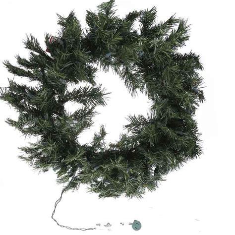 lighted pine christmas wreath wall art christmas and