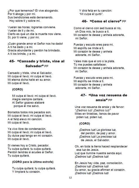cadena de coros para orar lista de canciones de adoracion himnos salmos y c 225