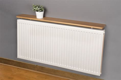 Shelf Radiator by Rounded Radiator Shelf 900x150x18mm Oak Mastershelf