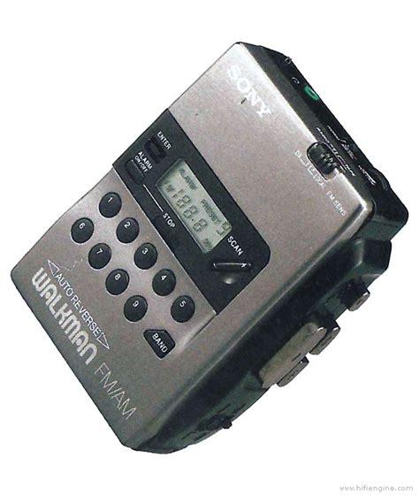 cassette player walkman sony wm fx40 manual walkman radio cassette player