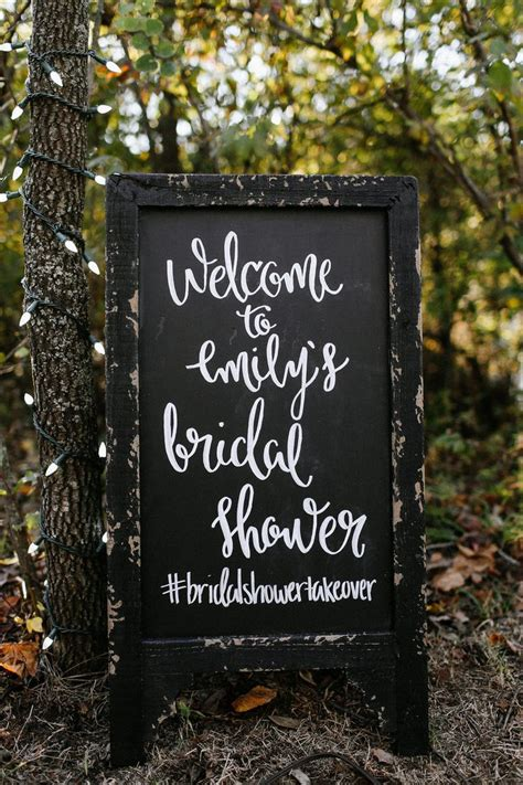 Welcome To Bridal Shower Sign by Best 20 Bridal Shower Chalkboard Ideas On