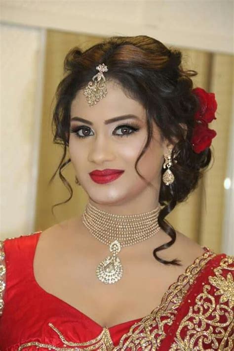 hair styls for sri lanken hair stylish wedding hairstyle ideas for indian bride 15 vis wed