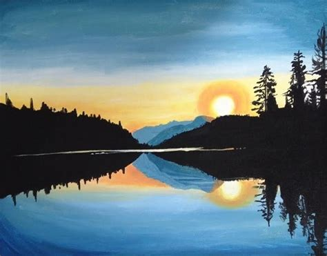 paint nite zukey lake paint nite hume lake