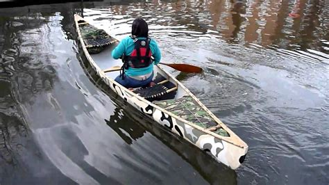canoes cnv carolyn first apache paddle mov youtube