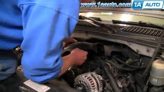 how to replace pcv valve 2000 03 6 0l gm chevy silverado