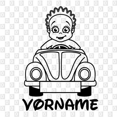 Aufkleber F R Auto Babynamen by Babyaufkleber Girl Auto 2 Von Onlinesticker Ch