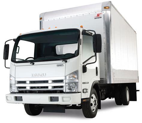 Truck Isuzu isuzu box truck back
