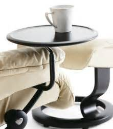 Side Table For Recliner Chair by Stressless Consul Chair Large And Ottoman Smart Furniture