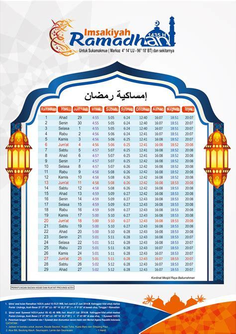 template imsakiyah cdr ucorel