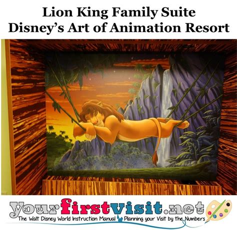 lion king room art of animation