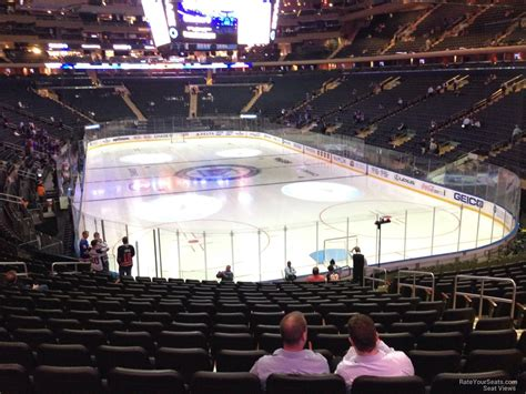 square garden section 111 new york rangers