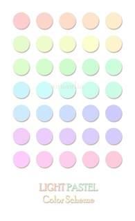 what are pastel colors pastel colors house of laiqa light pastel color scheme