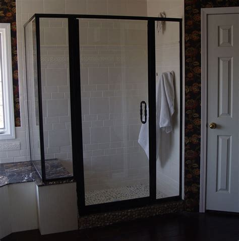 Custom Shower Doors Etched And Painted Shower Doors