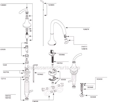faucet aerator diagram moen faucet aerator diagram 28 images moen ca87888