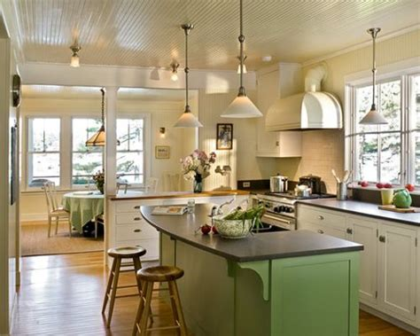 painted islands for kitchens painted kitchen island houzz