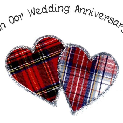 Wedding Anniversary Card Poems by Scottish Wedding Anniversary Card Oor Poem Wwwe41