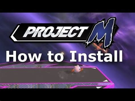 how to install project m project m 30 install homebrew lets play wii u