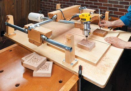 wood pattern duplicator carving duplicator woodsmith plans