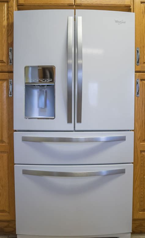 white 4 door door refrigerator check out my new fridge plus a chance to win one of your