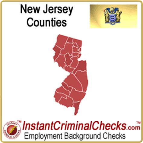 Background Check New Jersey New Jersey County Criminal Background Checks Nj Court