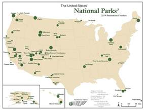 united states map of national parks united states national parks 2 fly