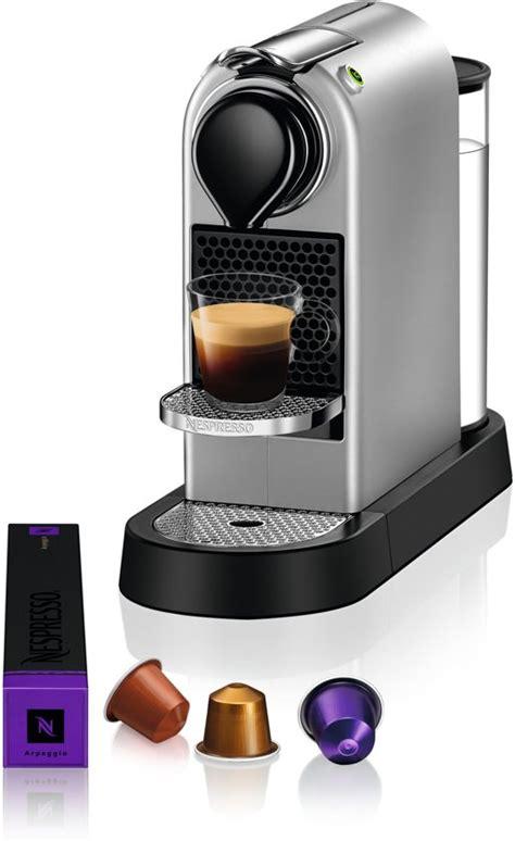 krups volautomatische koffiemachine bol nespresso krups citiz xn740b koffiemachine silver