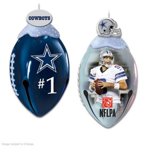 footbells ornament collection nfl dallas cowboys