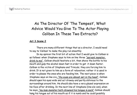 The Tempest Essay by 3 Essay Writing Tips To Tempest Essay