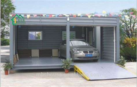 One Car Carport Prefab Car Garage Container Carport Storage Container In