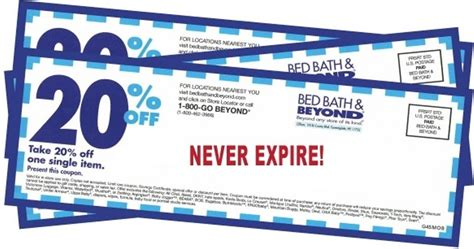 bed bath and beyond coupon printable bed bath and beyond has printable coupons bed bath and