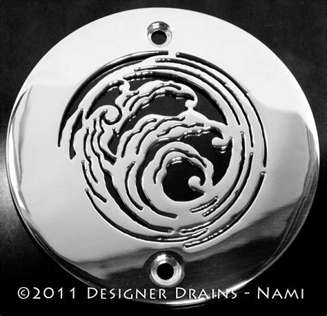 4inch Round Shower Drains : Elements Nami?   Designer Drains